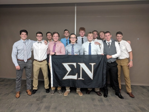 1e7dd1b2c4 This fall the Kappa Lambda Chapter took large strides in the areas of  recruitment and philanthropy. Going into the semester with a chapter of  less than 20 ...
