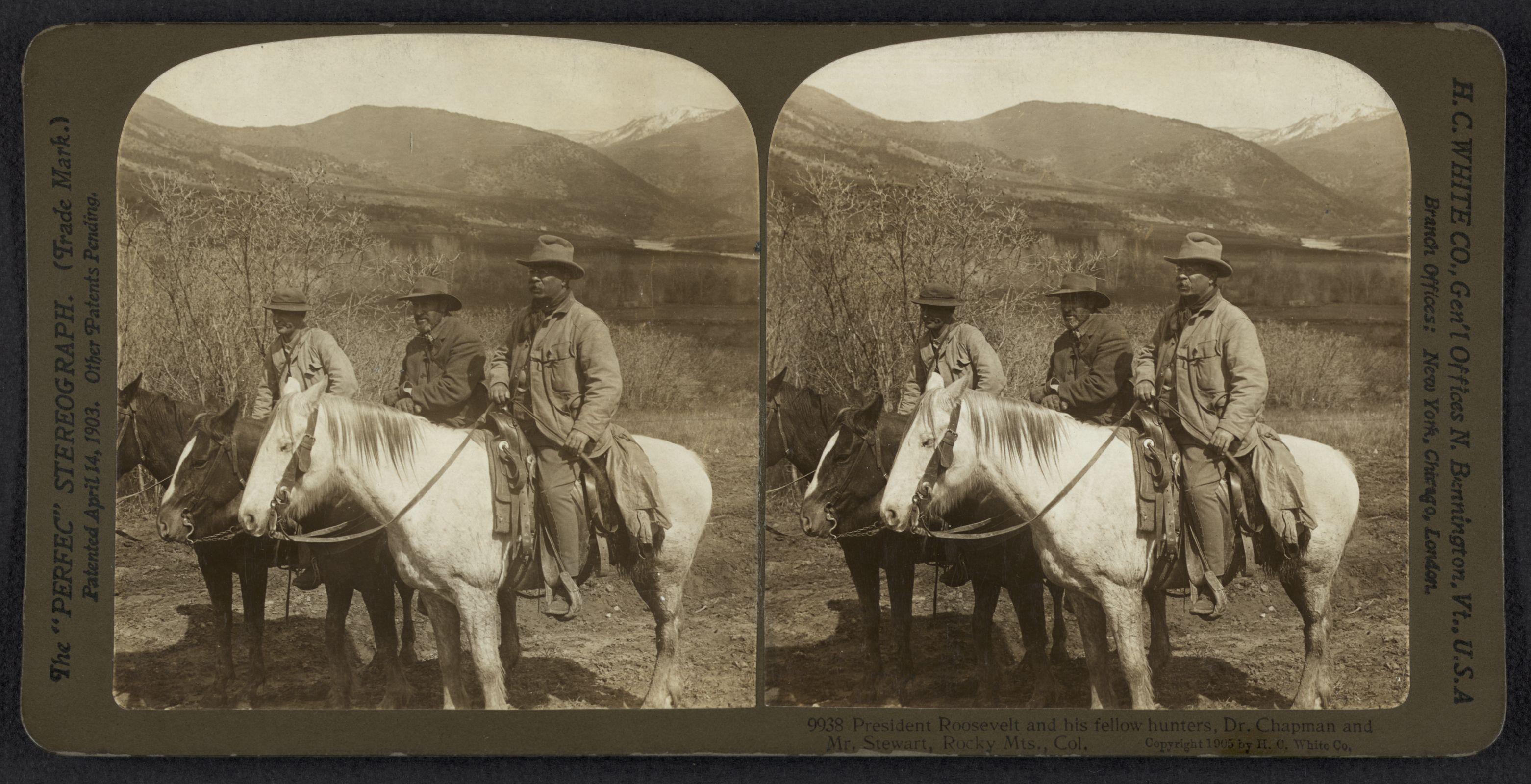 Roosevelt in Colorado