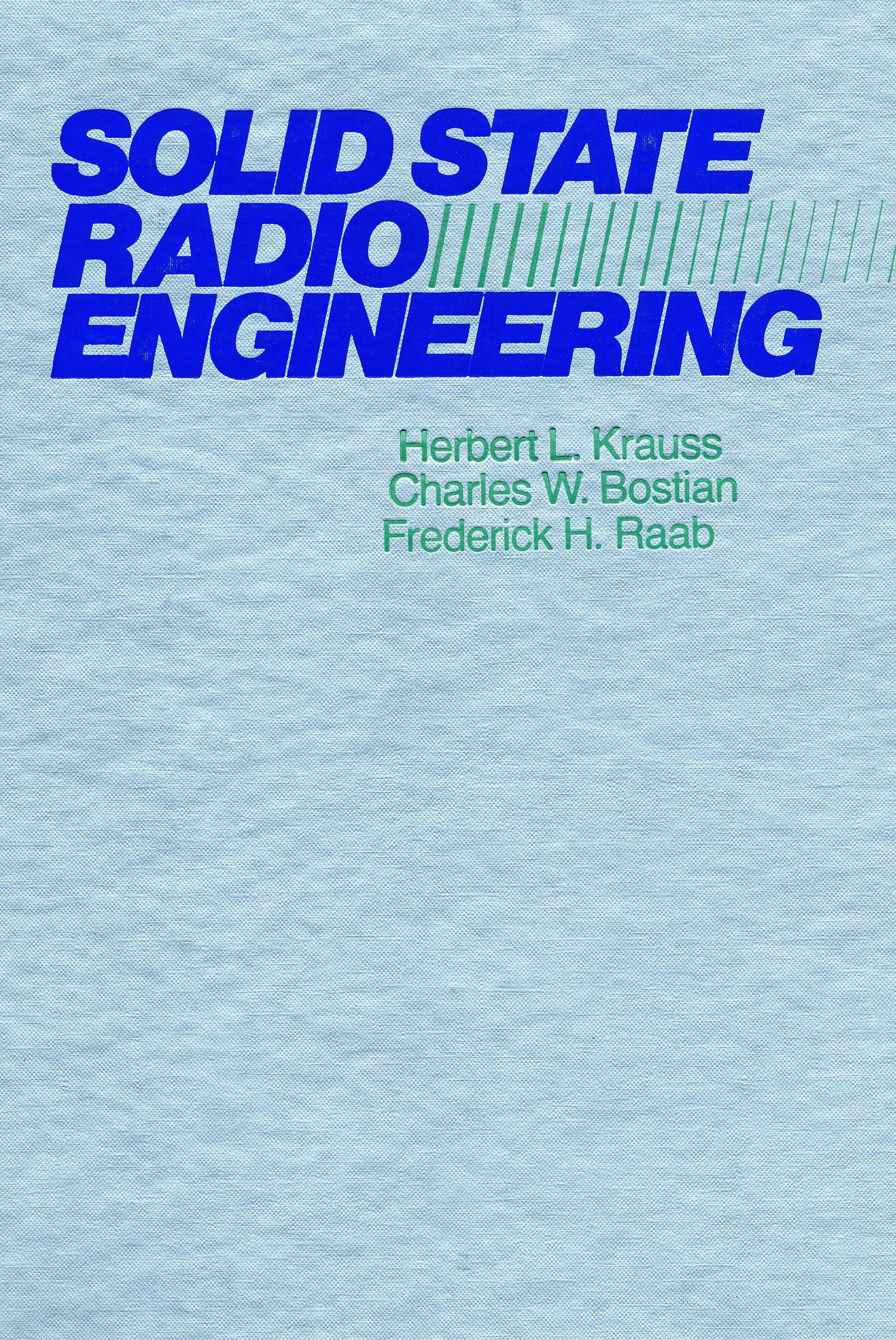 Solid State Radio Engineer