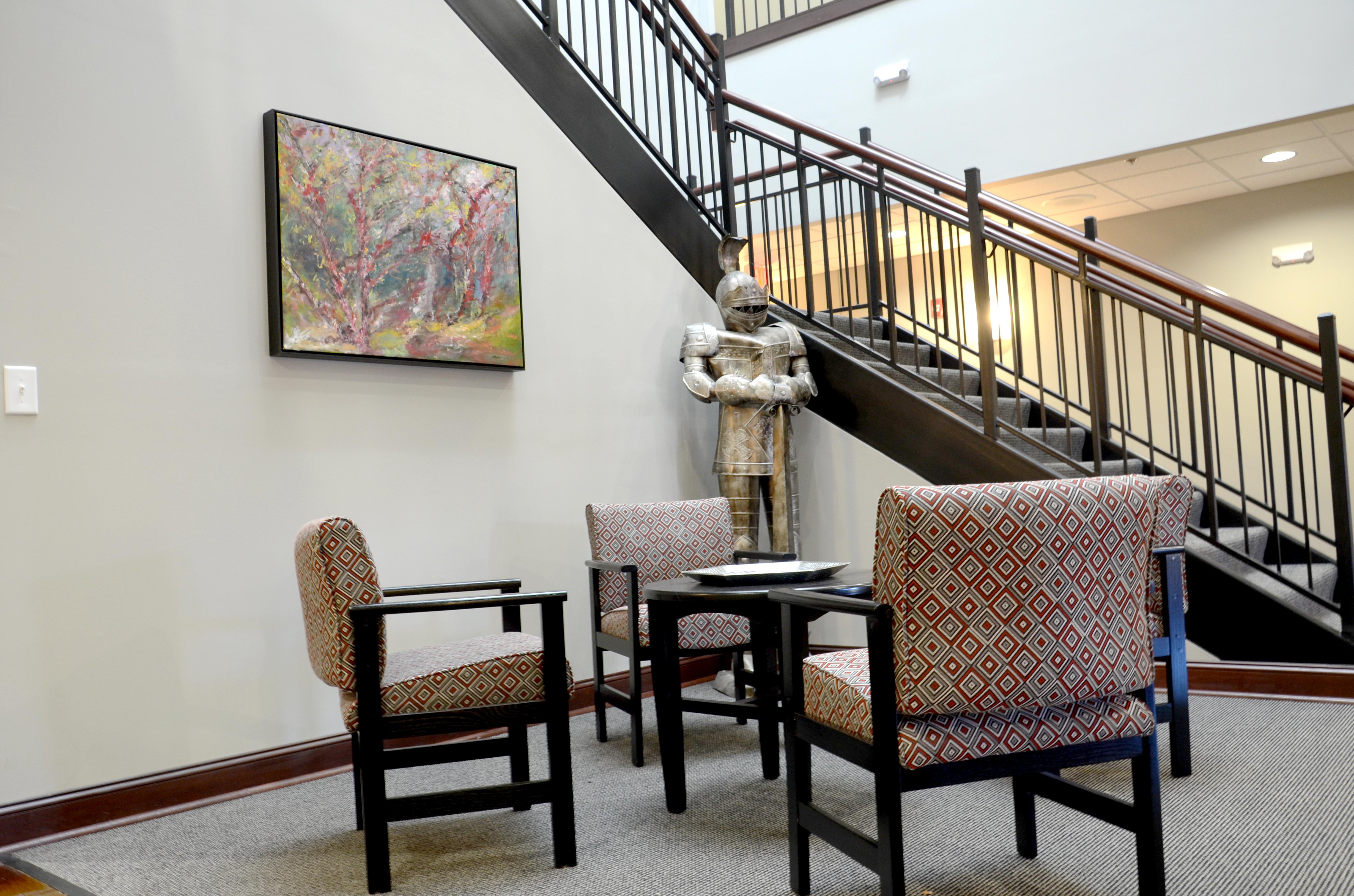 Beta Tau Foyer