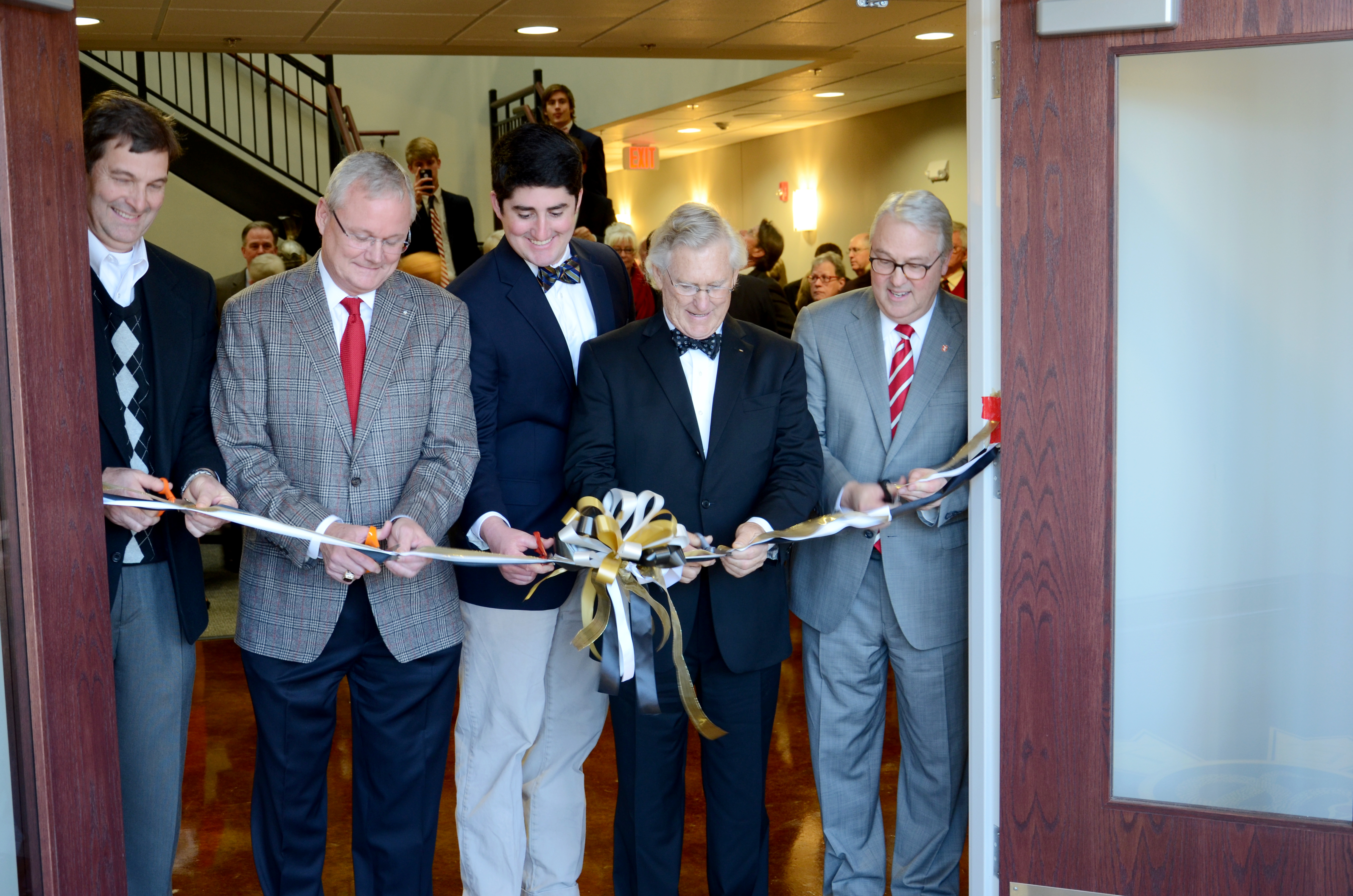Beta Tau Ribbon Cutting
